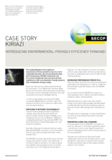 Kiriazi – Introducing Environmental-Friendly Efficiency Thinking!