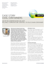 Secop Cool Containers
